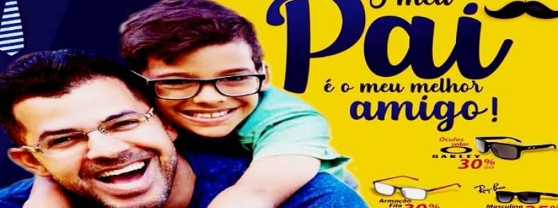 Dia dos Pais: Promoção especial para seu melhor amigo, nas Óticas Novo Mundo