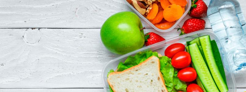Dicas para uma alimentação saudável na correria do dia a dia