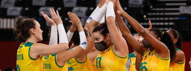 Com Brasil contra russas, veja como ficam as quartas do vôlei feminino