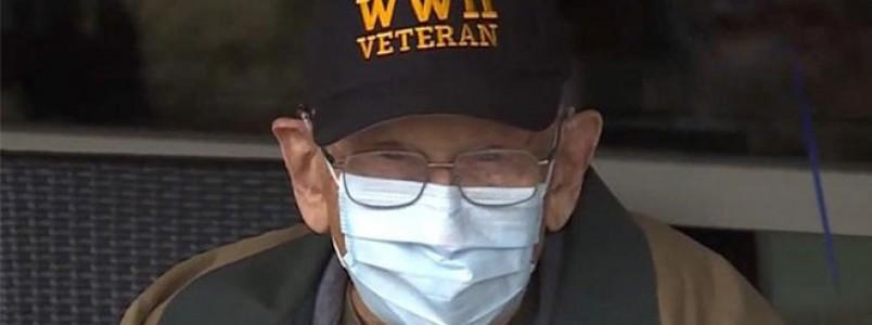 Sobrevivente da 2ª Guerra e da Gripe Espanhola se cura de covid-19