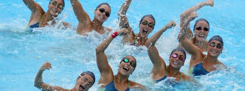 Com equipe completa, nado sincronizado treina forte antes do Rio 2016
