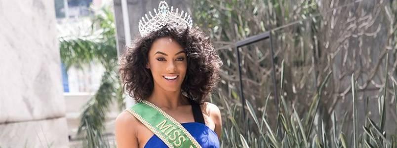 Miss Brasil 2016 é torcedora do Palmeiras