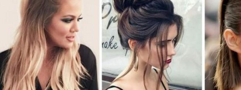 10 Ideias de penteados para cabelos 2018