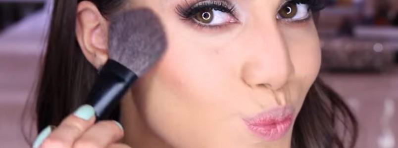 Tutorial de maquiagem para iniciantes, da pele ao gatinho (passo a passo)