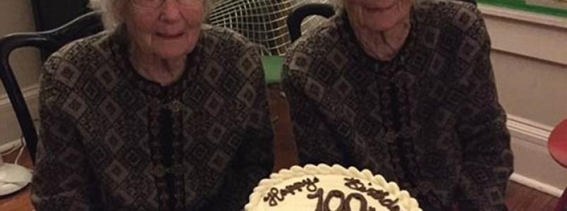 Conheça as gêmeas idênticas de 100 anos não se separam para nada e ainda frequentam a academia