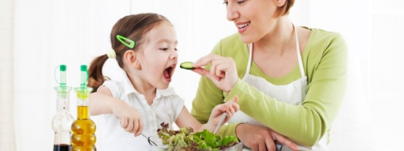 Alimentação saudável da criança