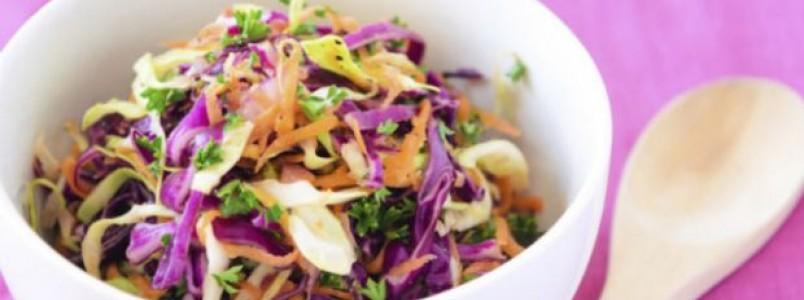 10 Receitas de salada de repolho light