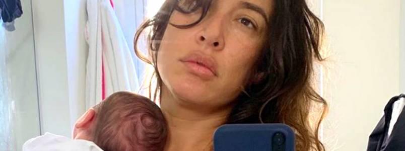 Giselle Itié mostra rostinho do filho pela primeira vez