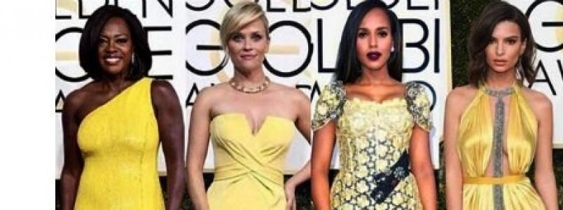 Red Carpet: Os vestidos das estrelas no Globo de Ouro 2017