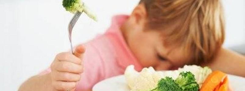 Como a ciência explica a aversão das crianças a legumes e verduras