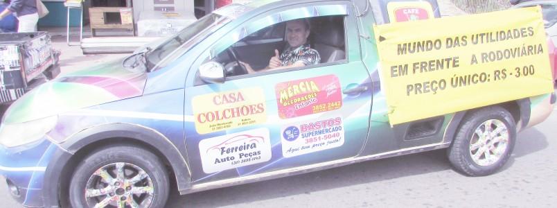 Valrley Mensagens Car de Monlevade já é um sucesso em Itabira também