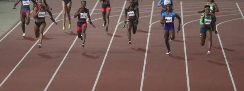 Brasil é ouro no revezamento 4x100 metros feminino