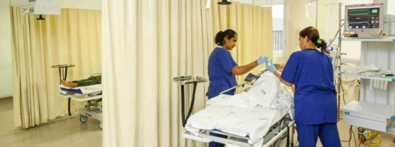 Hospital do Barreiro tem mais 80 leitos ativados, somando 437 em condições de atendimento