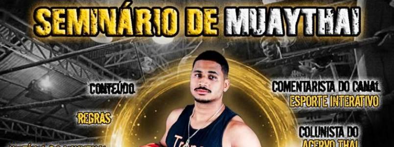 João Monlevade, MG, sediará Seminário de Muay Thai em Março