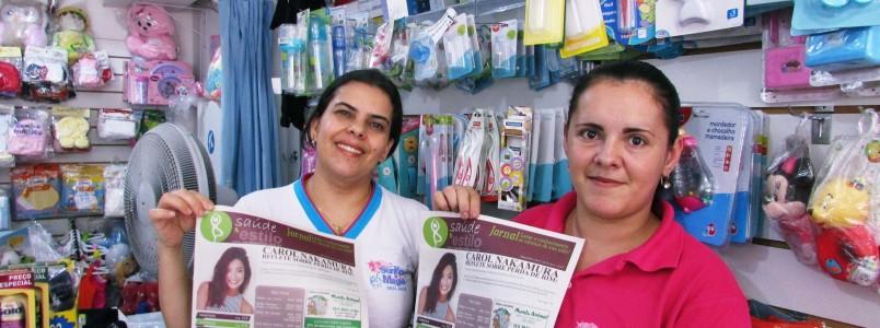 Sonho e Magia recebe mais uma edição do jornal Saúde e Estilo