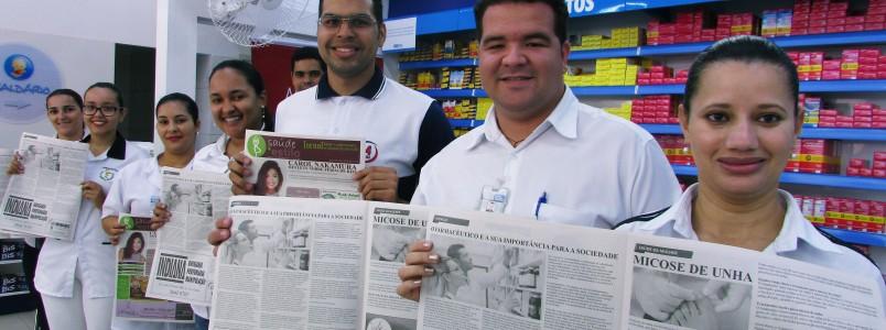 A maior drogaria de Itabira é a farmácia oficial do jornal Saúde e Estilo