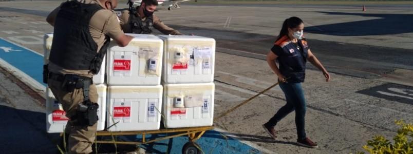 Governo de Minas distribui 12º remessa com mais 478.150 doses de vacinas contra a Covid-19