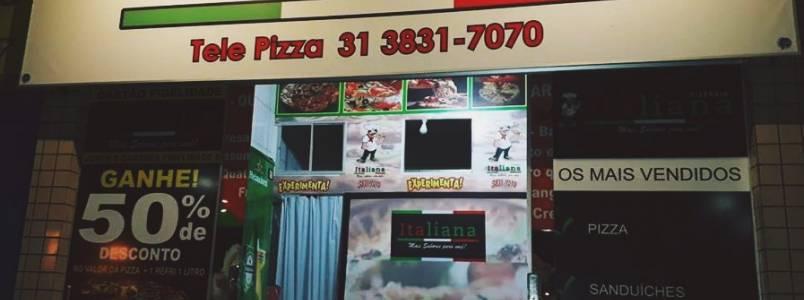Pizzaria Italiana: gostoso e rapidinho
