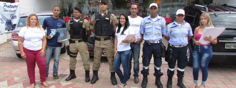 Itabira Quer Paz 2020 para a João Pinheiro em Itabira, MG, nesta terça 14