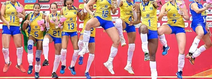 Seleção Brasileira de Vôlei Feminino busca vaga de olho em inédito título mundial