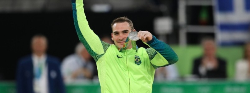 Arthur Zanetti fica com a medalha de prata nas argolas