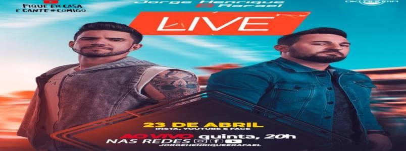 A sensação do sertanejo de Goiania fará Live para fãs neste 23 de Abril
