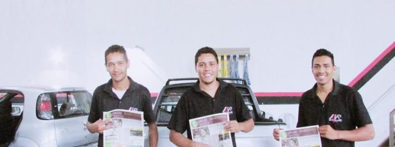 ARV uma super empresa para deixar seu veículo limpíssimo