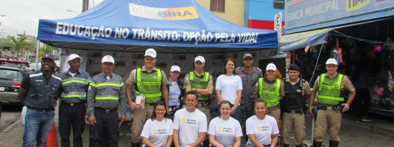 Semana Nacional do Trânsito promove Blitz Educativa em Itabira, MG