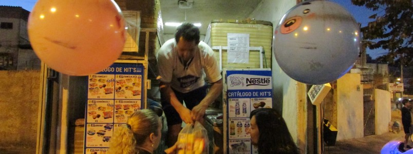 Caminhão da Nestlé: Um sucesso em Itabira, MG