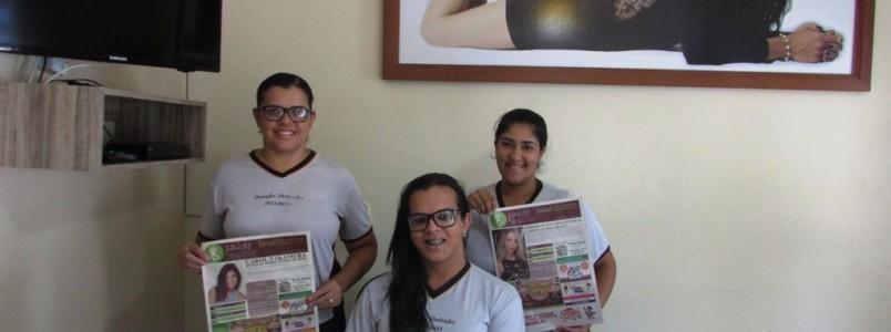 Jennifer Penteados Oliveira é o primeiro contrato do Jornal  Saúde Estilo em Monlevade