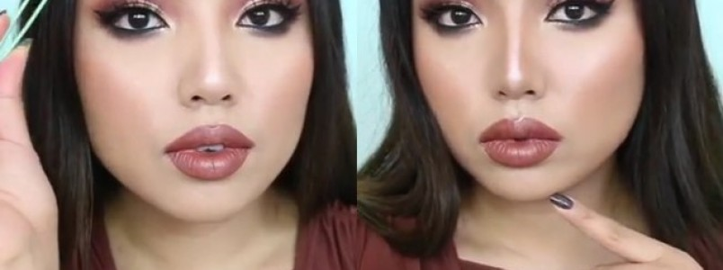 Aprenda truque de blogueira para definir a sobrancelha com pinça e maquiagem