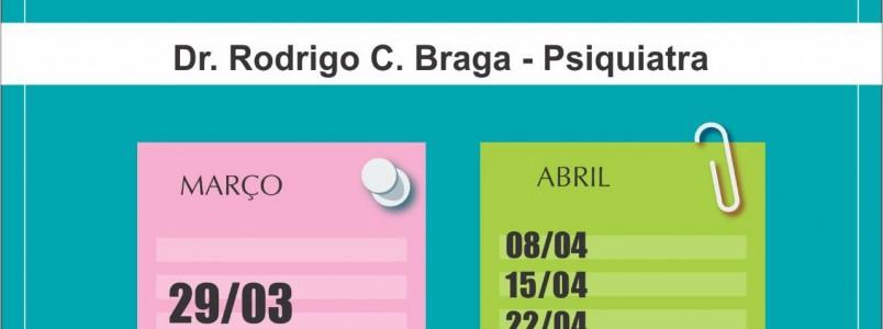 Confira a Agenda do Dr. Rodrigo em Itabira, MG