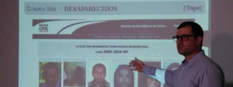Polícia Civil lança novo site de pessoas desaparecidas com novas ferramentas e funções multimídia