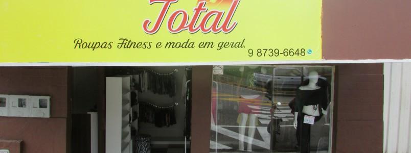 Areão possui uma loja especializada em Moda Fitness: Moda Total