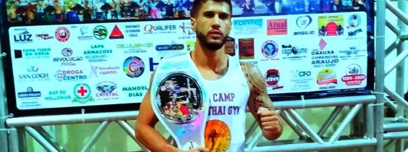 Douglas Morais de Monlevade ganha mais uma luta na cidade de Luz