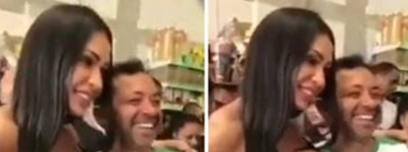 Gracyanne Barbosa é vítima de assédio; assista ao vídeo!