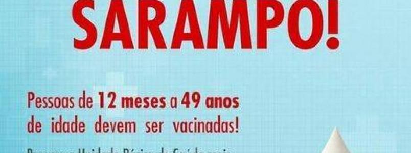 A 15 dias da campanha de sarampo e polio,