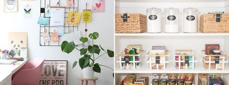 Manter a casa organizada é possível; veja dicas para deixar cada cômodo em ordem