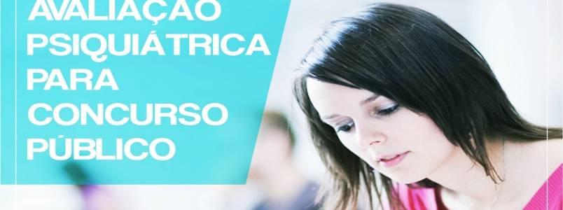 Dr Rodrigo explica: Avaliação Psiquiátrica para concurso público