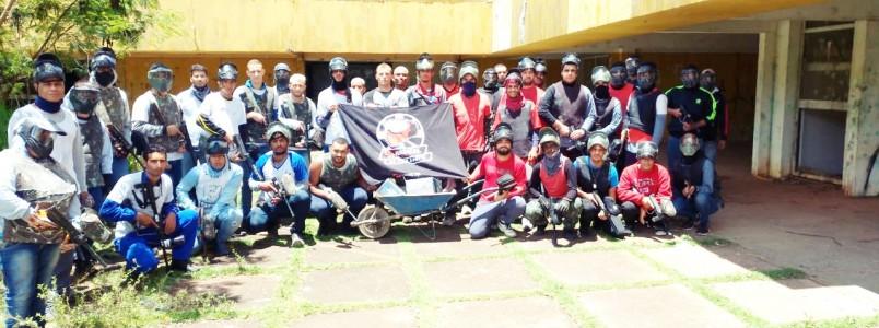 2ª Paintball Benificente arrecadou doações para entidades, em Itabira, MG