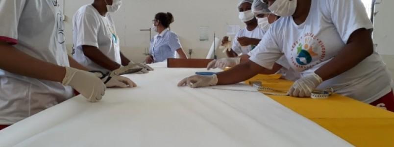 Presos mineiros vão fabricar diariamente 22 mil máscaras de proteção contra o coronavírus