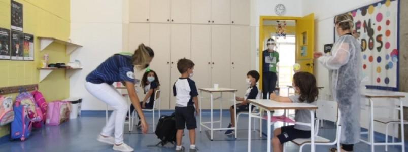 Aulas presenciais em escolas particulares de BH voltam nesta segunda; confira regras