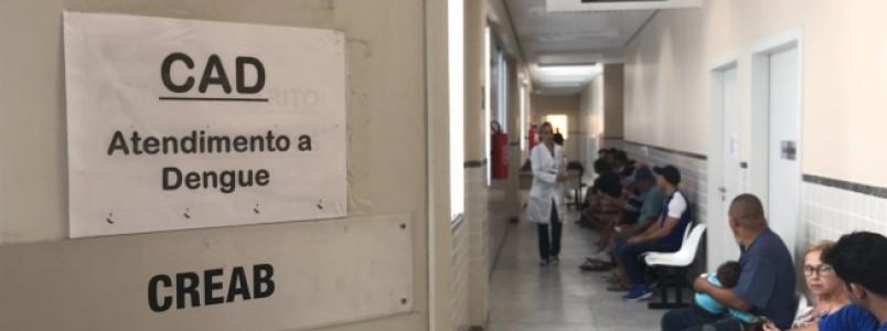 Centro exclusivo para casos de dengue vai receber 150 pacientes por dia
