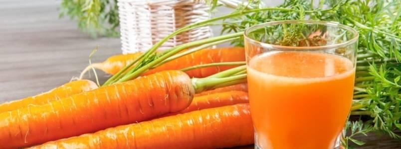 Suco de cenoura para colesterol alto