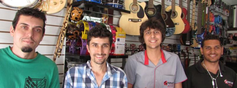 Kerlon Eletro Music: Uma loja para quem quer adquirir os melhores instrumentos musicais