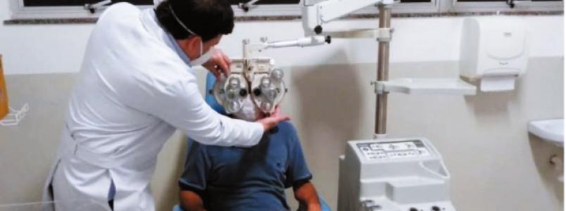 Instalação moderna garante conforto na assistência oftalmológica em BH