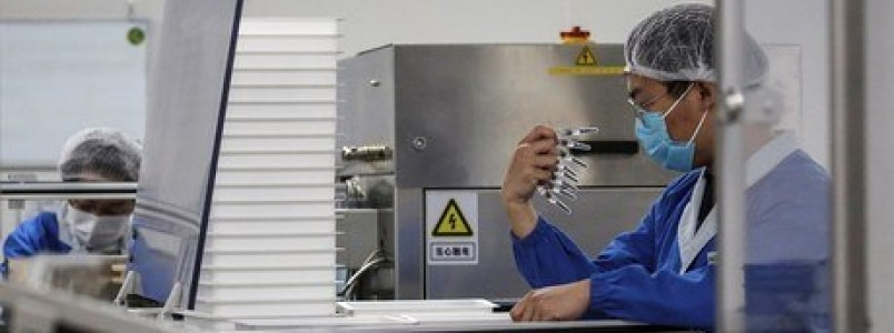 Técnicos da Anvisa inspecionam fábrica da CoronaVac na China