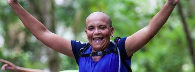 """""""Corrida é minha válvula de escape contra o câncer. Corro e volto mais forte"""""""