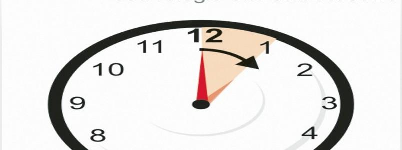 Horário de verão começa à 0h de domingo em Minas e mais 10 estados